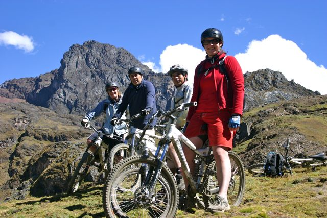 3. Bike riding in the Andes on our June biking trip in Peru.jpg