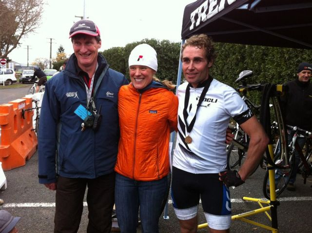 CX Nats winner - Gary Hall with Katie Compton.jpg